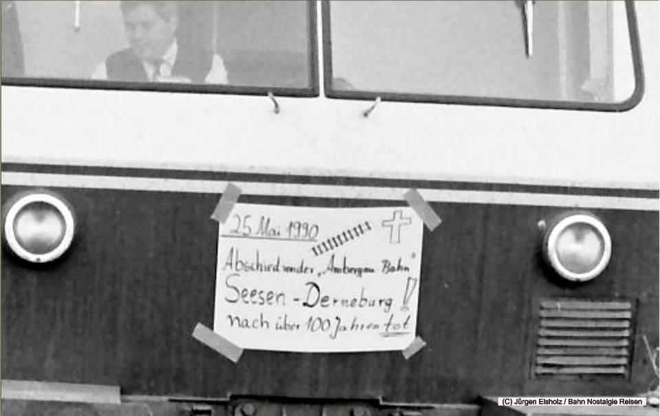 Am 25. Mai 1990 fuhr der letzte planmäßige Personenzug auf der Ambergaubahn