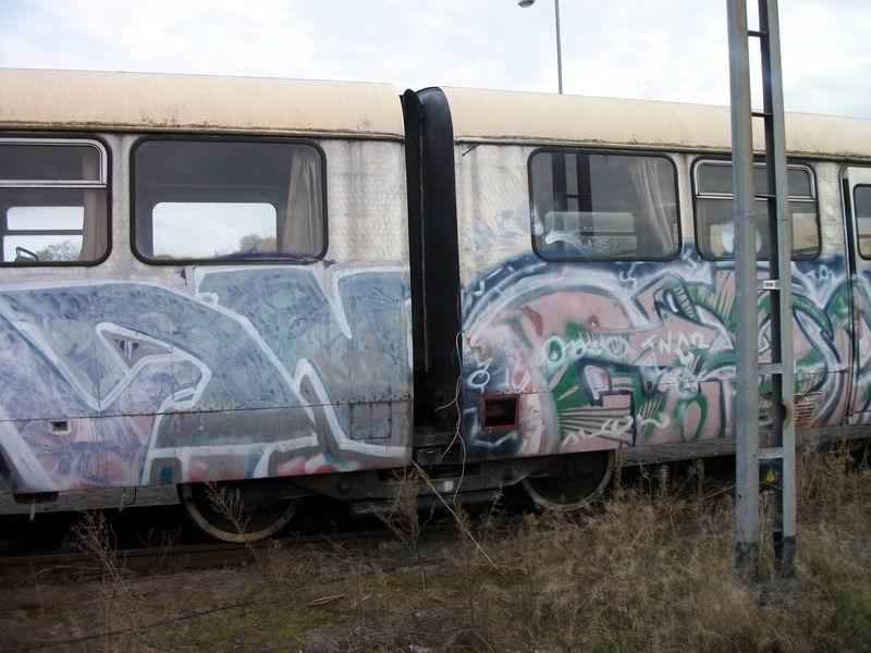 Das Jakobsdrehgestell zwischen VT 40 901 a/b
