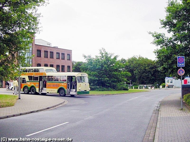 Hier stand einst der DB Bahnhof von Lebenstedt mit angrenzendem Busbahnhof
