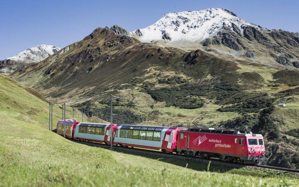Unterwegs im Trans Alpin Express zwischen Graz und Zürich - 7 Tage!