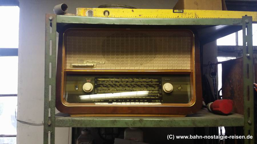 Das Radio in der Werkstatt