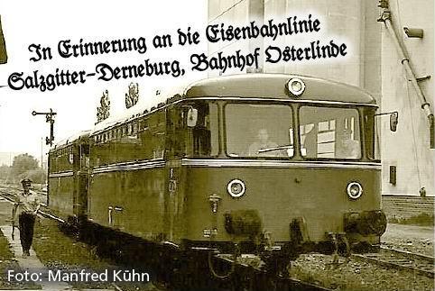 Bildpräsentation der ehemaligen Nebenbahn Salzgitter Lebenstedt - Derneburg
