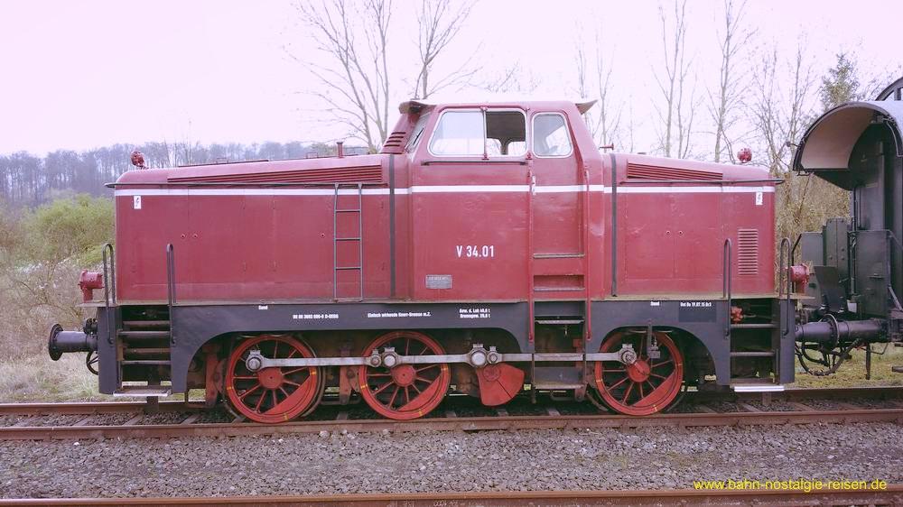 Henschel V 34.01 der Dampfzug-Betriebs-Gemeinschaft Hildesheim e.V.