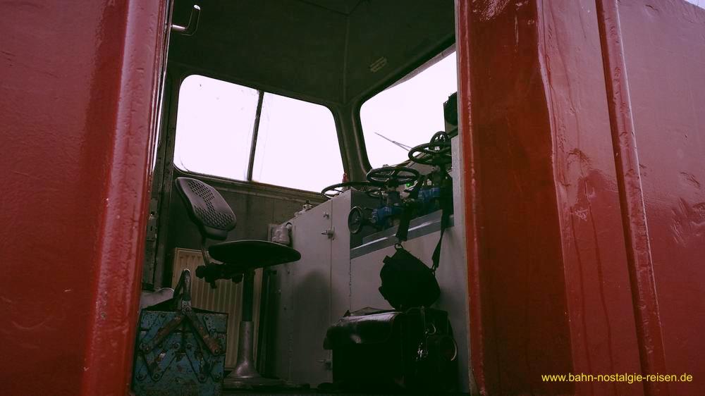 Der Henschel Fahrstand
