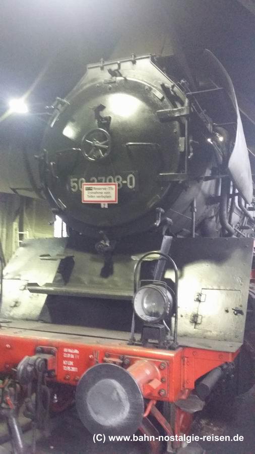 Dampflok 50 3708
