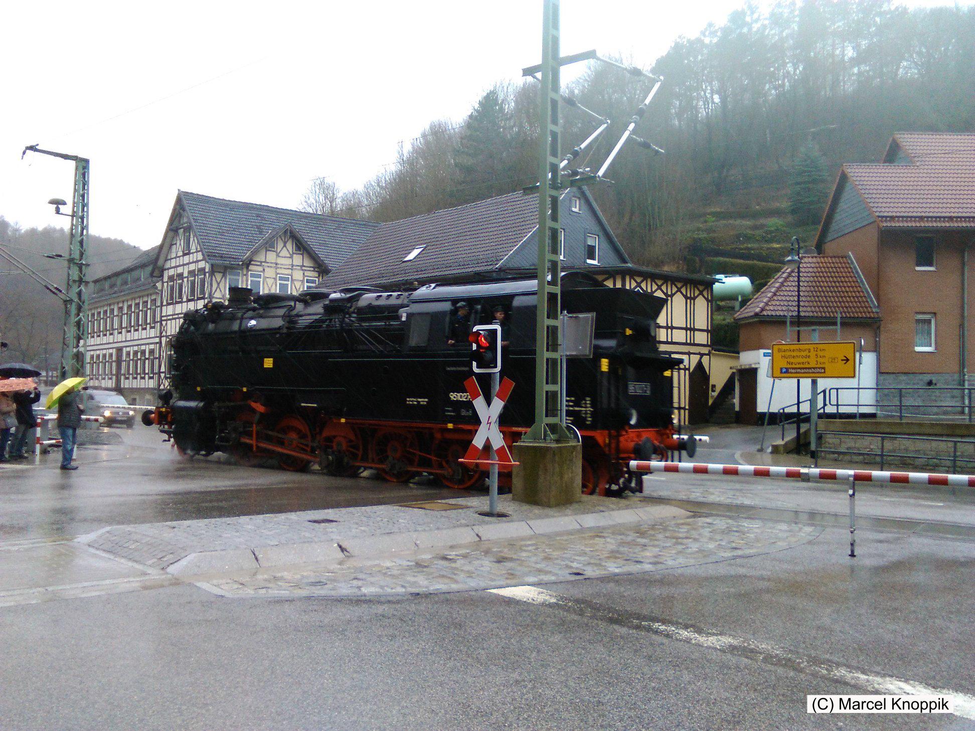 Abschied von der Bergkönigin - Dampflok 95 027