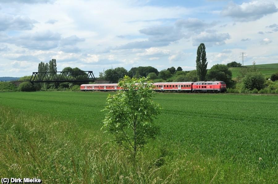 Sonderzugfahrt am 25. Mai 2014 zwischen Salzgitter Ringelheim und Salzgitter Bad