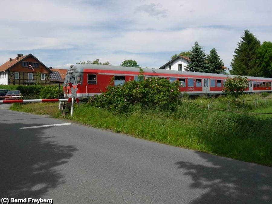 Haltepunkt Gielde zwischen Börßum und Salzgitter Bad