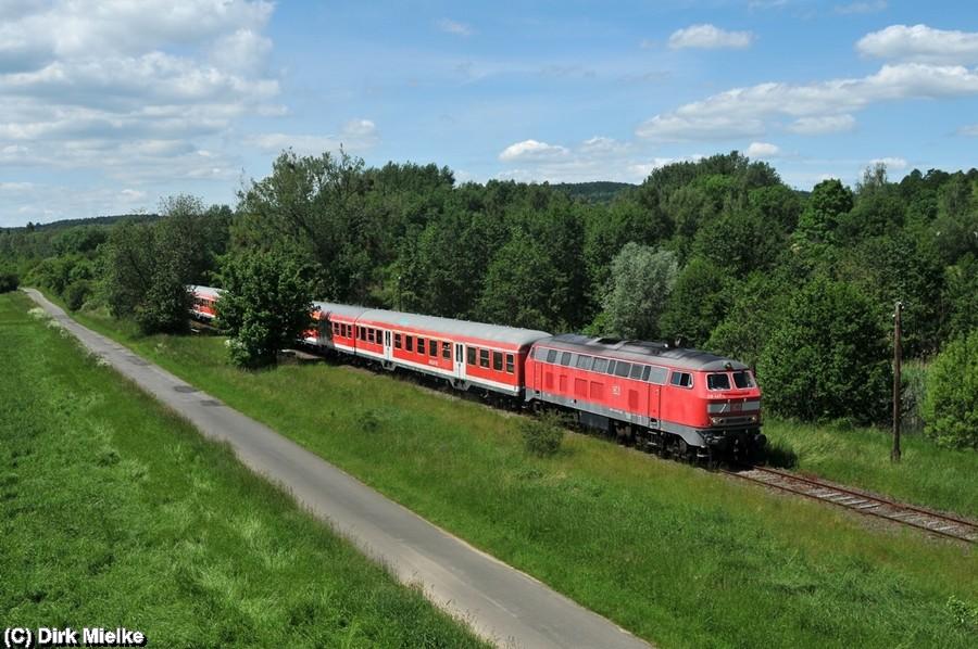 Sonderzugfahrt am 25. Mai 2014 zwischen Salzgitter Bad und Klein Mahner
