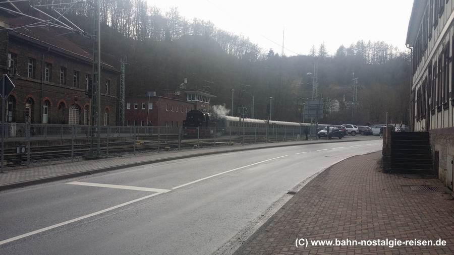 Der Bahnhof Rübeland