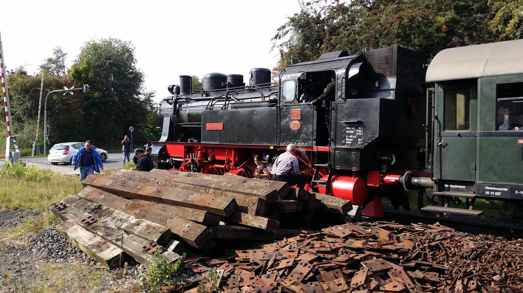 Dampflok HC 206 - Stadt Naumburg