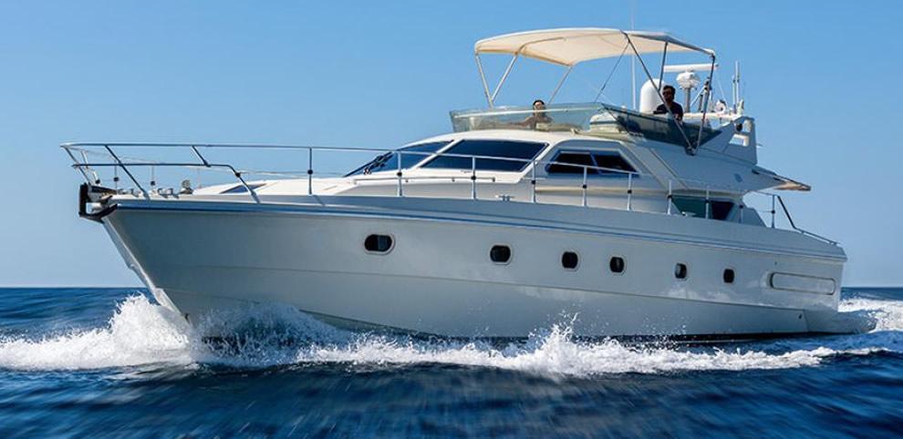 Yacht Ferretti 175 chartern mit Skipper in Mallorca