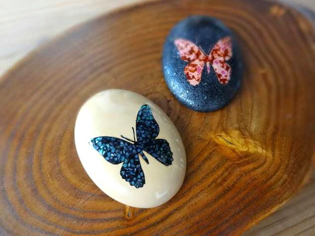 アゲハ蝶のブローチ / Butterfly brooches