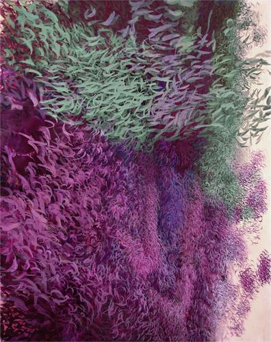 Meere, 2010, Acrylfarbe auf Leinwand, 200x160cm