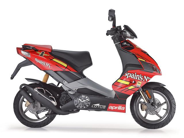 aprilia scooter