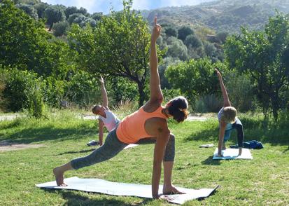 Kalabrien Yoga