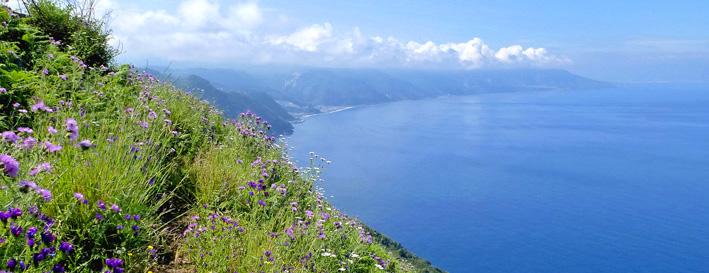 Steilküstenwanderung Kalabrien 2021