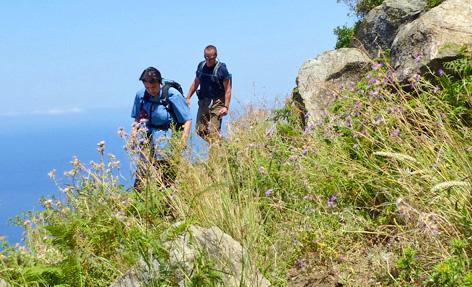 Tageswanderung ab Tropea stupor mundi tours