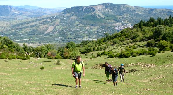 Wanderwege Kalabrien