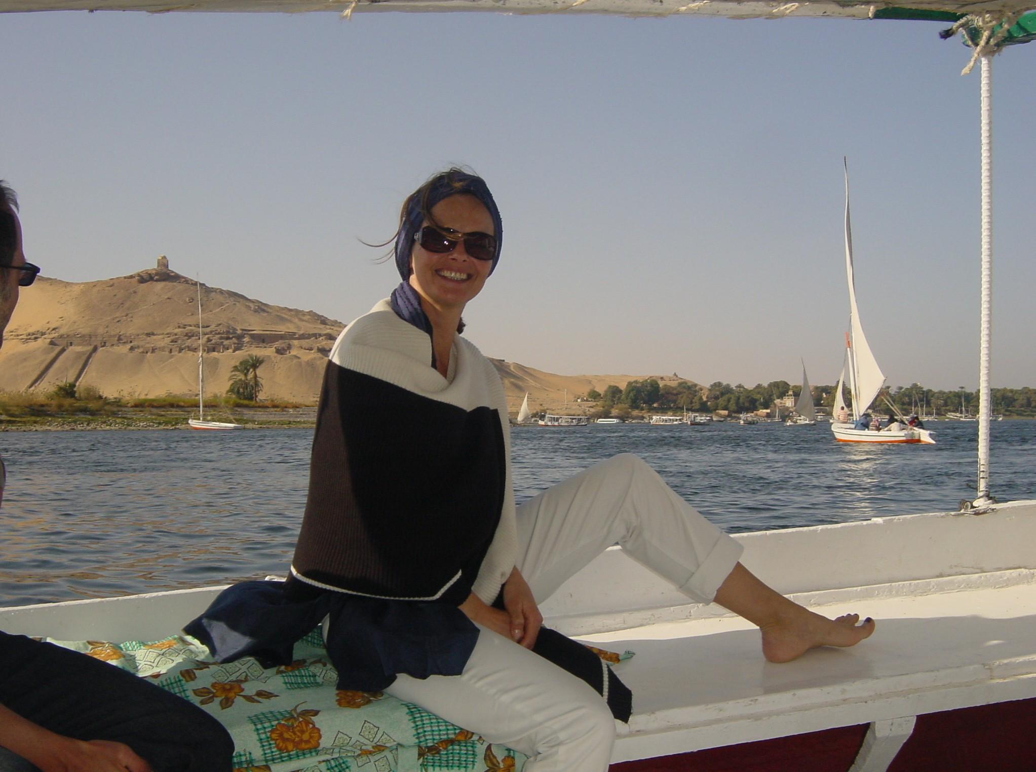 Auf dem Nil Assuan / Ägypten