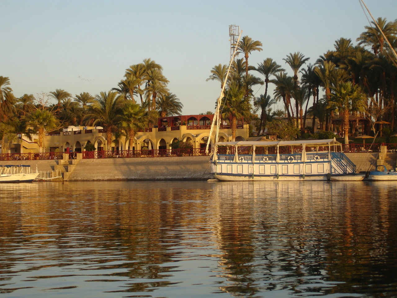 Am Nil / Ägypten