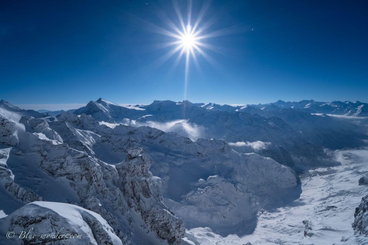 Blick von Titlis Südseite / Schweiz