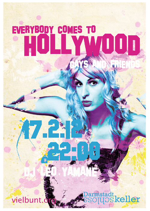 Plakat: Hollywood 2012