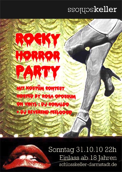 flyer: Rocky Horror Halloween 2010