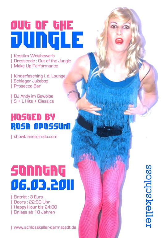 flyer: OUT OF THE JUNGLE 2011