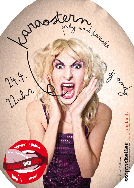 flyer: KARAOSTERN 2012
