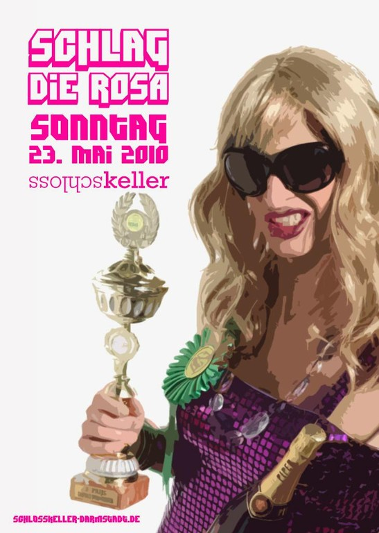 flyer: Schlag die Rosa 2010