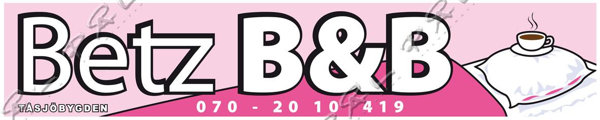 Betz B&B, Tåsjö