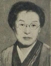 佐多稲子 『アサヒグラフ』 1954年6月2日号より