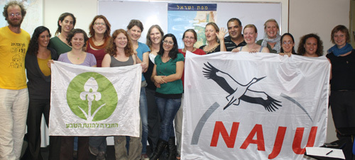 NAJU's Professional exchange with Israel