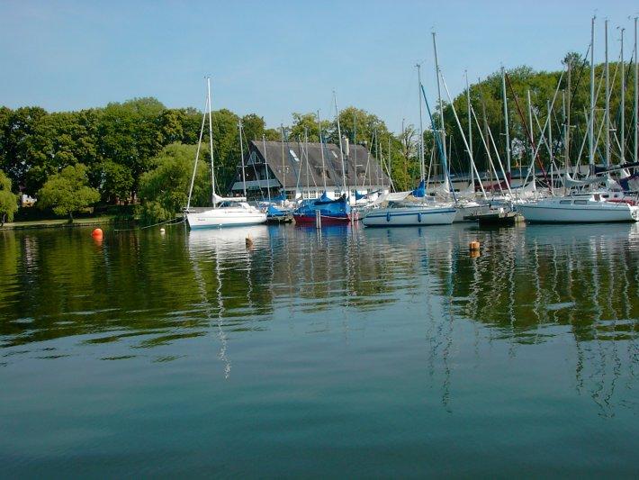 Seglerhafen in Röbel