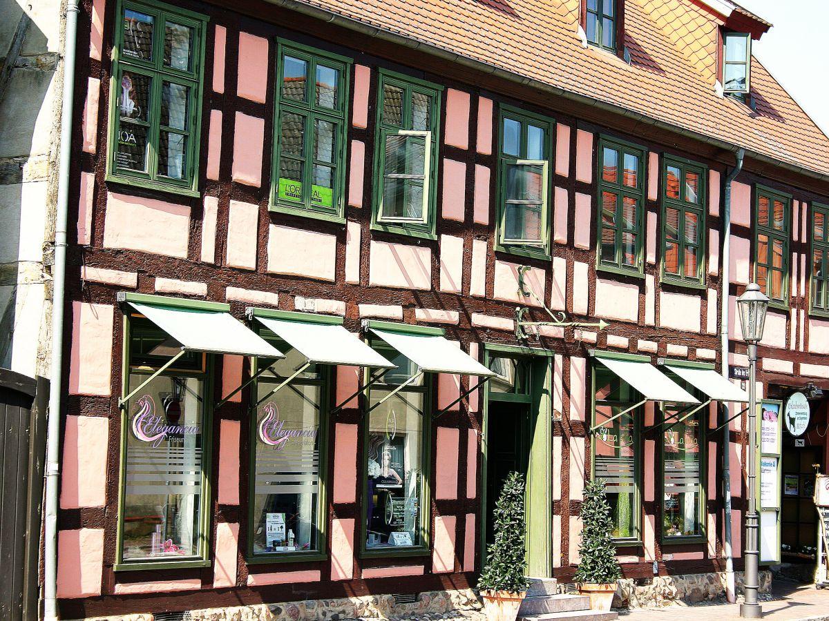 Fachwerkhaus in Röbel mit Cafè