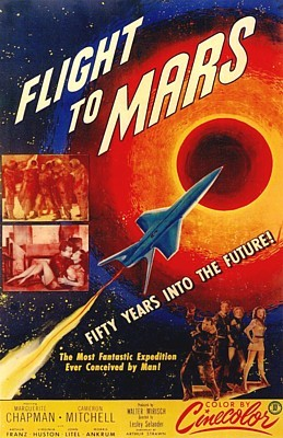 Flight to Mars (USA 1951) Filmplakat