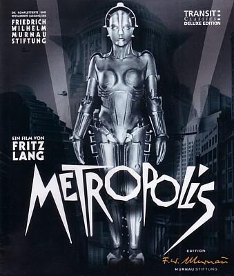 Metropolis (1927) Bluray Covermotiv