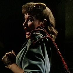 """Ann Robinson in einem Szenenfoto von """"Kampf der Welten"""" (The War of the Worlds, USA 1953) von Byron Haskin und George Pal"""