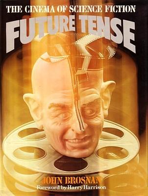 "Buchcover von John Brosnan, ""Future Tense"" (1978)"