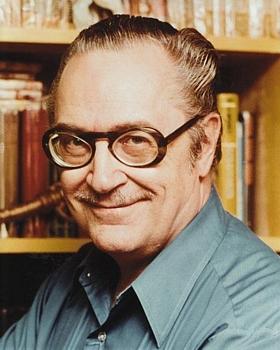Forrest J. Ackerman (1916–2008), um 1970