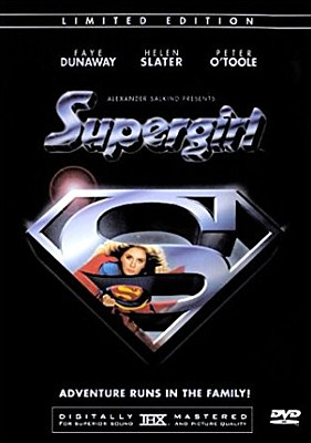 "DVD-Cover zu dem Film ""Supergirl"" (GB/USA 1984) von Jeannot Swarc; 2-Disc-Special-Edition"