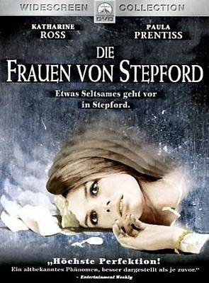 """DVD-Cover zu dem Film """"Die Frauen von Stepford"""" (The Stepford Wives, USA 1975) von Bryan Forbes"""