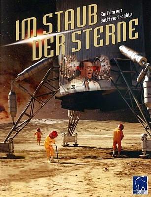 """DVD-Cover für den Film """"Im Staub der Sterne"""" (DDR/Rumänien 1976) von Gottfried Kolditz; Icestrom Entertainment"""