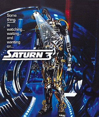 "Bluray-Cover zum Film ""Saturn 3"" (GB 1980) von Stanley Donen"