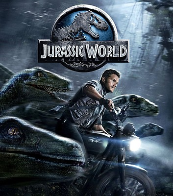 "Bluray-Cover zu dem Film ""Jurassic World"" (USA 2015)"