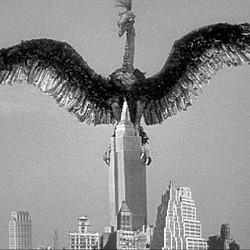 """Szenenfoto aus dem Film """"Angriff der Riesenkralle"""" (The Giant Claw, USA 1957) von Fred F. Sears"""