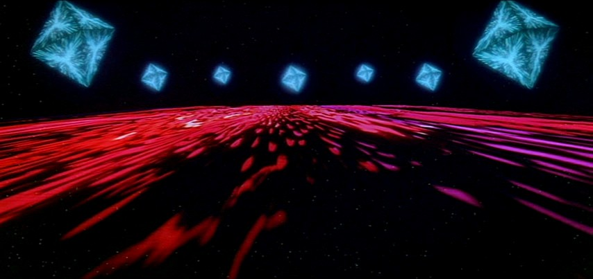 Der Flug durchs Sternentor in Stanley Kubricks 2001: A Space Odyssey (USA 1968)