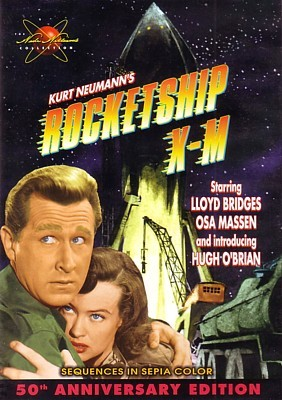 Rakete Mond startet (Rocketship X-M, 1950) DVD Cover Wade Williams Collection