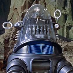 "Robby der Roboter aus dem Film ""Alarm im Weltall"" (Forbidden Planet, USA 1956)"